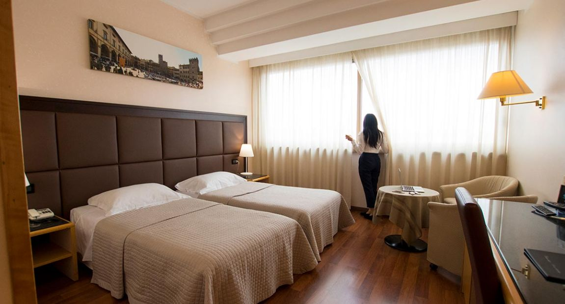 Elegant rooms in the center of Arezzo